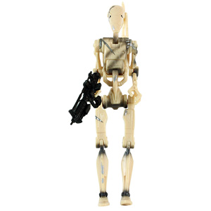 Battle Droid Sliced