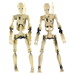 Battle Droid With STAP