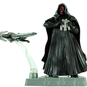 Darth Maul With Sith Infiltrator Trophy