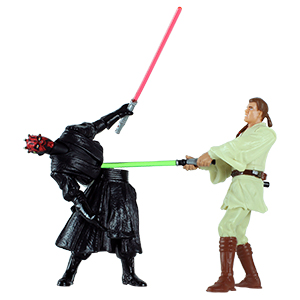 Darth Maul Final Lightsaber Duel 2-pack