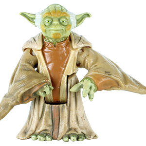 Yoda With Jedi Council Chair