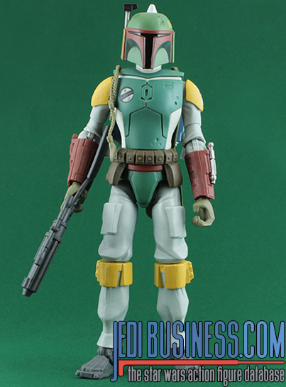 Boba Fett Bounty Hunter Blast! Star Wars Galaxy Of Adventures