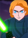 Luke Skywalker Lightsaber Slash! Star Wars Galaxy Of Adventures