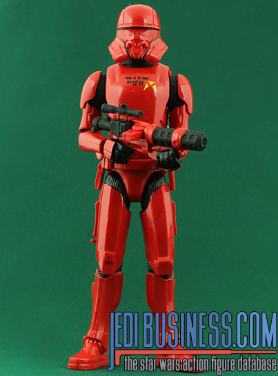 Sith Jet Trooper figure, GalaxyBasic