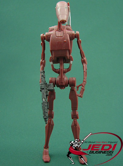 Battle Droid figure, M2ClassI