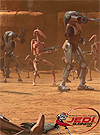 Battle Droid Geonosis Arena Battle Movie Heroes Series