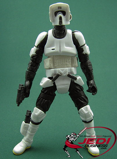 Biker Scout With Speeder Bike