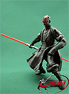 Darth Maul Spinning Lightsaber Action! Movie Heroes Series