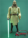 Qui-Gon Jinn, Light-up Lightsaber Blade! figure
