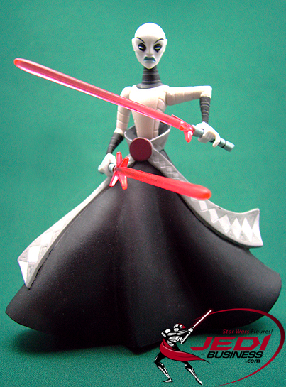 Asajj Ventress figure, CWAnimated