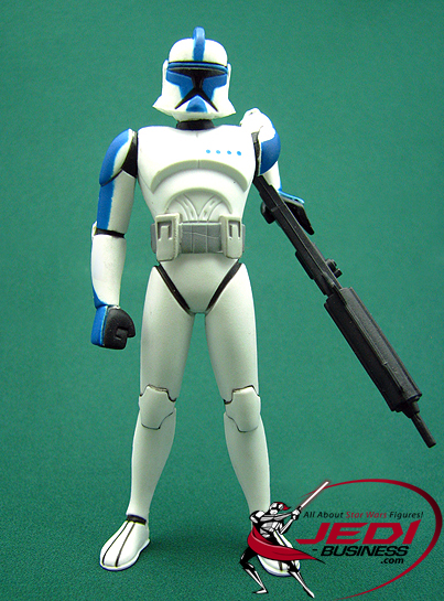 Clone Trooper Lieutenant figure, CWAnimated