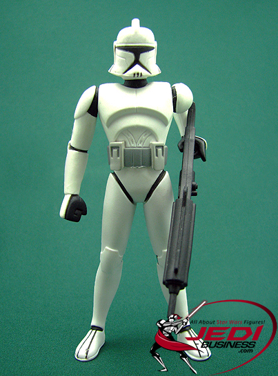 Clone Trooper figure, CWAnimated