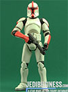 Clone Trooper Captain, Troop Builder 4-pack Ranked Clean Armor figure