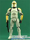 Clone Trooper Commander, Troop Builder 4-pack Ranked Clean Armor figure