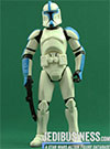 Clone Trooper Lieutenant, Troop Builder 4-pack Ranked Clean Armor figure