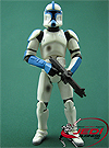 Clone Trooper Lieutenant, Troop Builder 4-pack Ranked Battle Damage figure