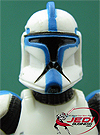 Clone Trooper Lieutenant Troop Builder 4-pack Ranked Battle Damage Original Trilogy Collection