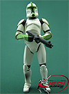 Clone Trooper Sergeant, Troop Builder 4-pack Ranked Battle Damage figure