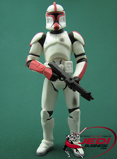 Clone Trooper Captain Troop Builder 4-pack Ranked Battle Damage