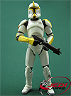 Clone Trooper Commander, Troop Builder 4-pack Ranked Battle Damage figure