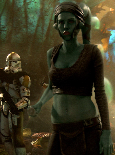 Aayla Secura Figure (Jedi Knight) - Revenge Of The Sith ... | 403 x 545 jpeg 193kB