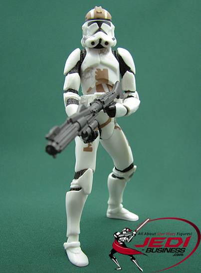Clone Trooper figure, ROTSDVD