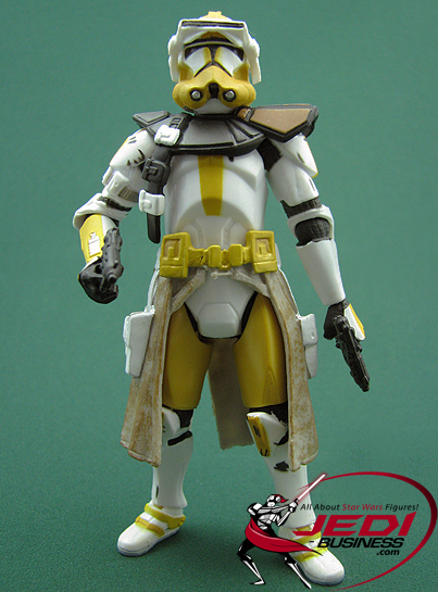 Commander Bly Battle Gear! Revenge Of The Sith Collection
