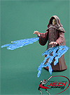 Palpatine (Darth Sidous) With glowing Force Lightning Revenge Of The Sith Collection