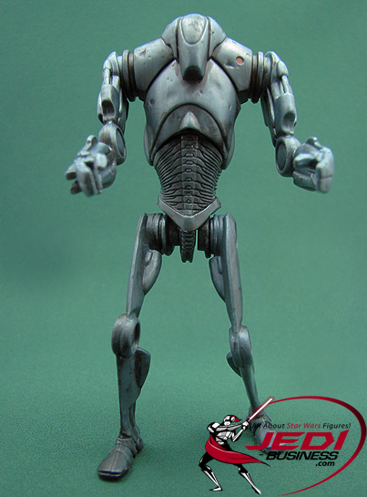 Super Battle Droid figure, ROTSDeluxe