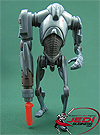 Super Battle Droid, Firing Arm-Blaster! figure