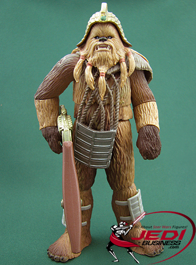 Wookiee Warrior figure, ROTSPreview
