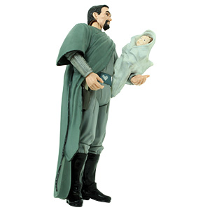 Bail Organa Separation Of The Twins With Leia