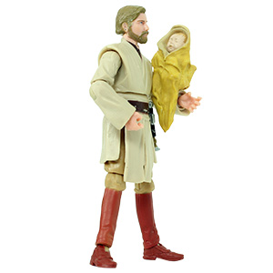 Luke Skywalker Separation Of The Twins With Obi-Wan Kenobi