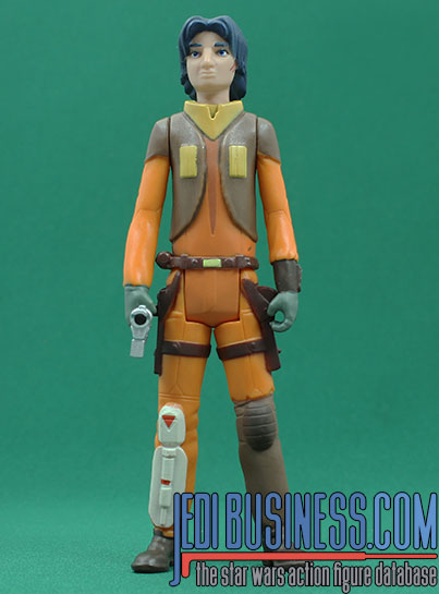 Ezra Bridger With Ezra Bridger's Speeder The Rogue One Collection