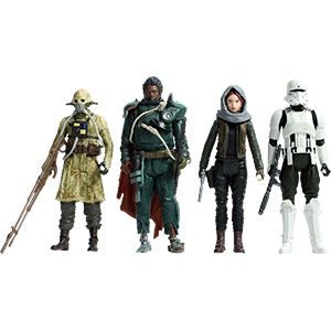 Imperial Assault Tank Driver Jedha Revolt 4-Pack