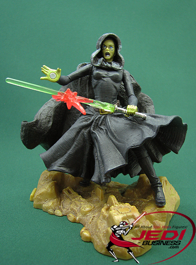 Barriss Offee figure, SAGA2003