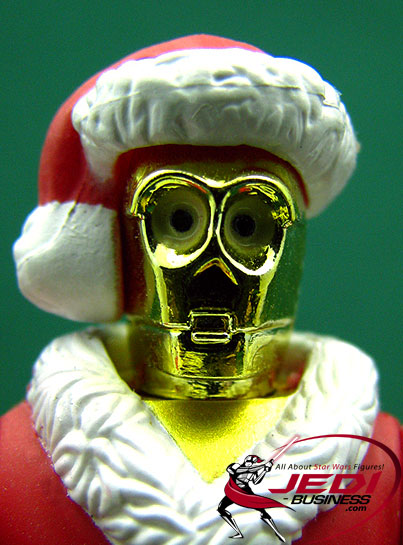 C-3PO Holiday Edition 2002 (McQuarrie) Star Wars SAGA Series