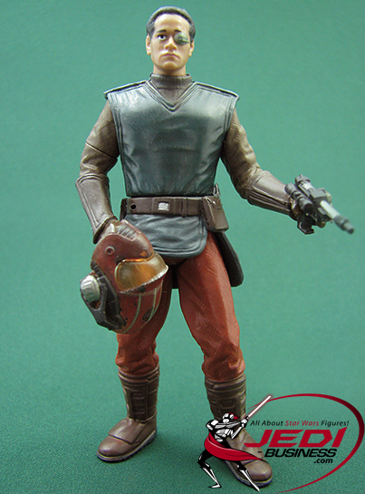 Captain Typho figure, SAGA