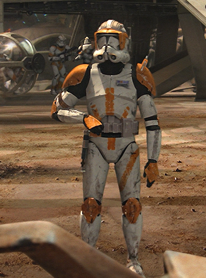 Commander Cody Figure  Revenge Of The Sith