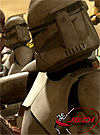 Clone Trooper Attack Of The Clones 4-Pack Shadow Of The Dark Side
