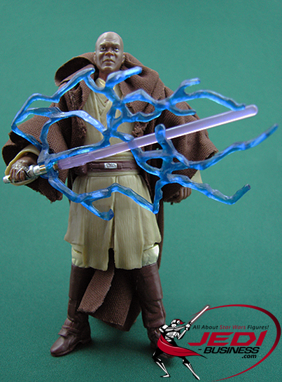 Mace Windu figure, SOTDSBluRay4pack