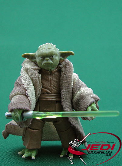 Yoda figure, SOTDSBluRay4pack