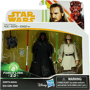 Probe Droid 2-Pack #2 With Darth Maul/Qui-Gon Jinn