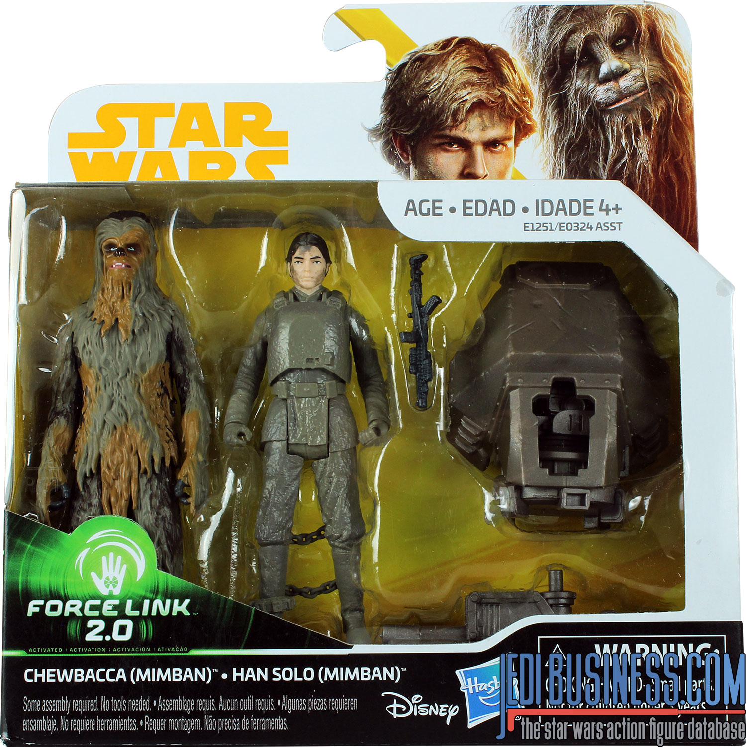 Chewbacca, 2-Pack #4 With Han Solo (Mimban)