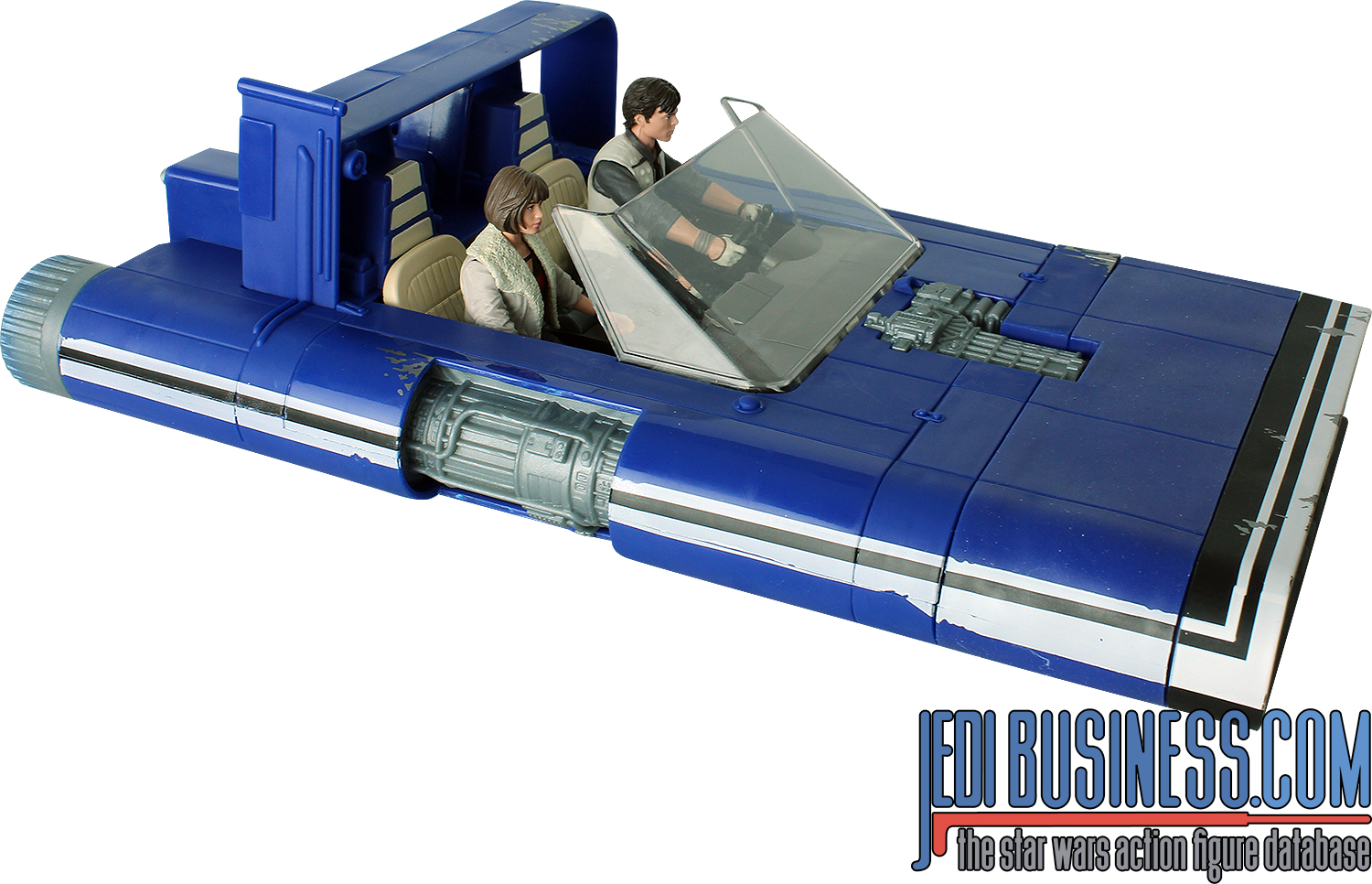Han Solo, With M-68 Landspeeder