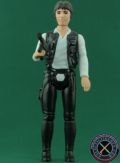Han Solo figure, retrobasic