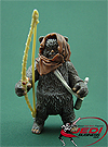 Graak, With Ewok Romba figure