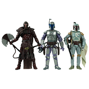 Boba Fett The Fett Legacy 3-Pack