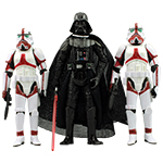 Darth Vader THE FORCE UNLEASHED 3-PACK I