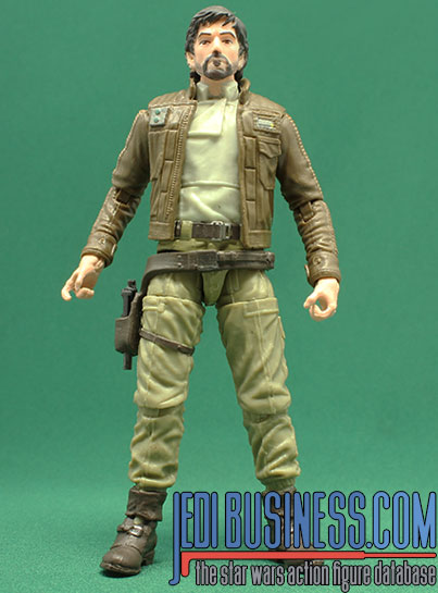 Cassian Andor figure, blackthree